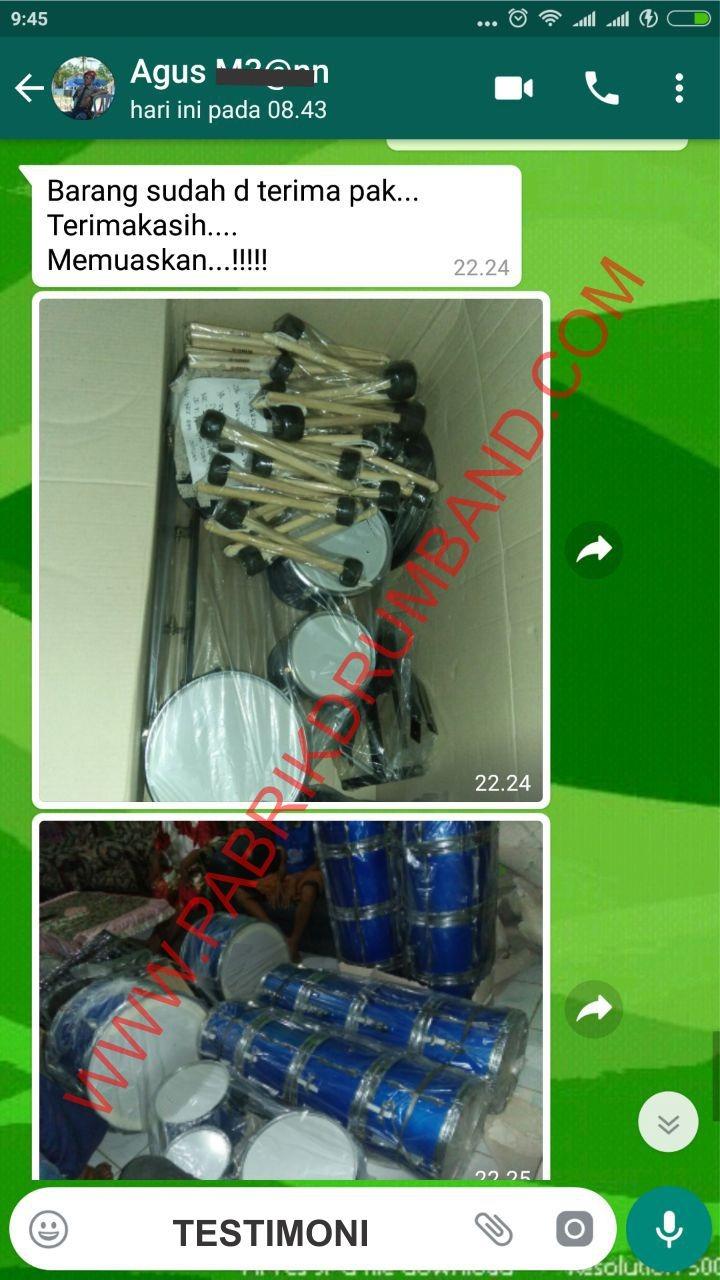 produksi drumband bantul testimoni 7
