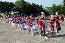 drumband di Indonesia